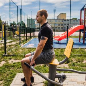 siłownie na powietrzu Trainer