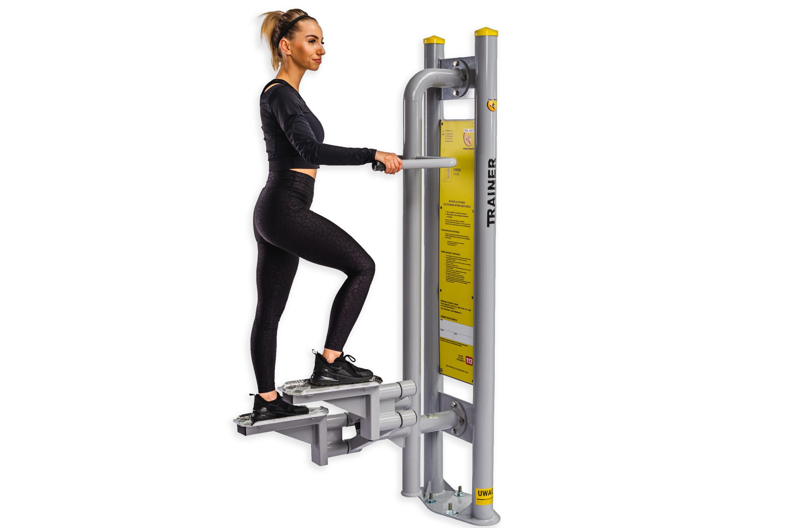 Stepper – sprzęt do ćwiczeń dolnych partii ciała