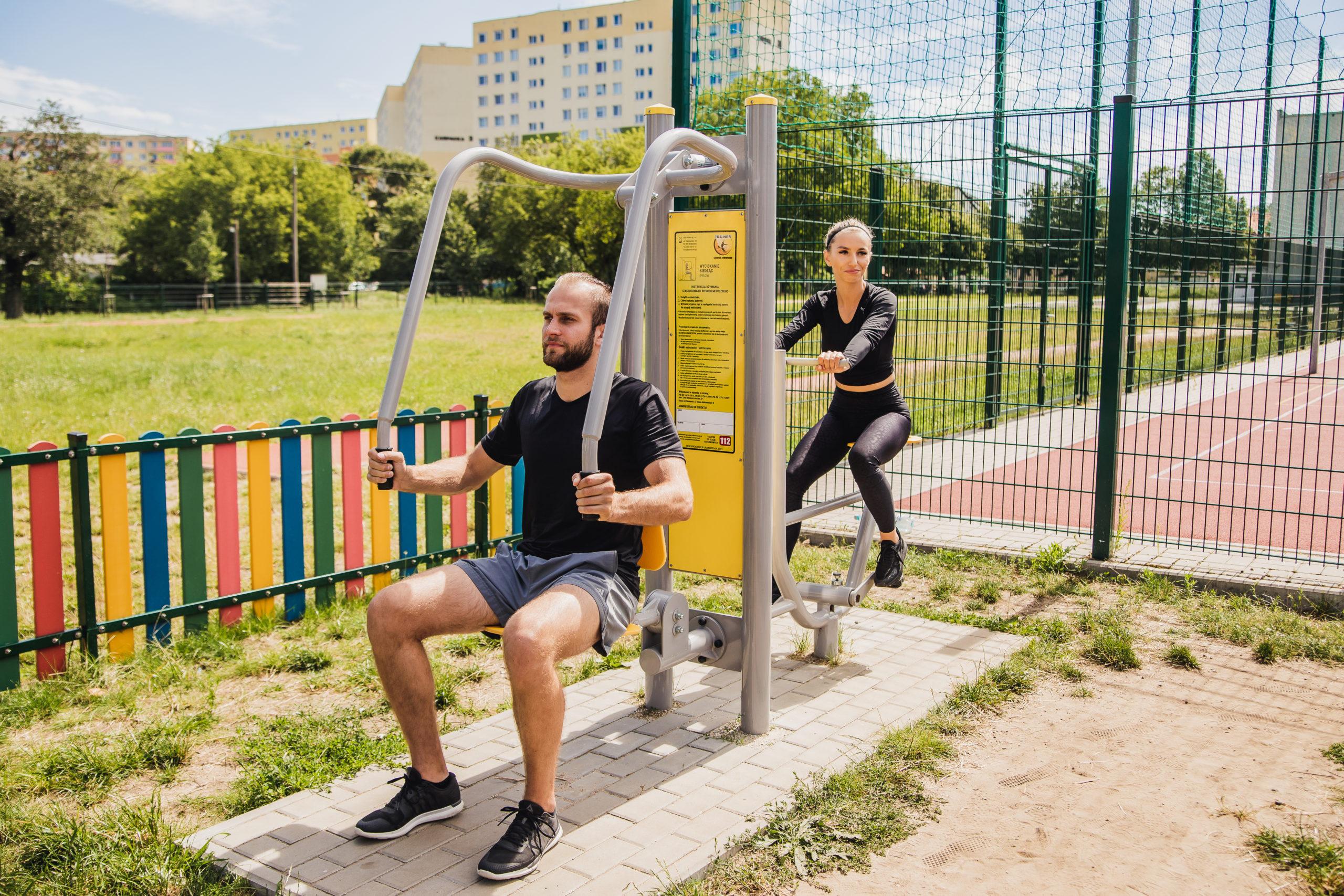 siłownie zewnętrzne dla miast