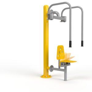 Integracyjne siłownie zewnętrzne - Motyl rewers integracyjny disabled