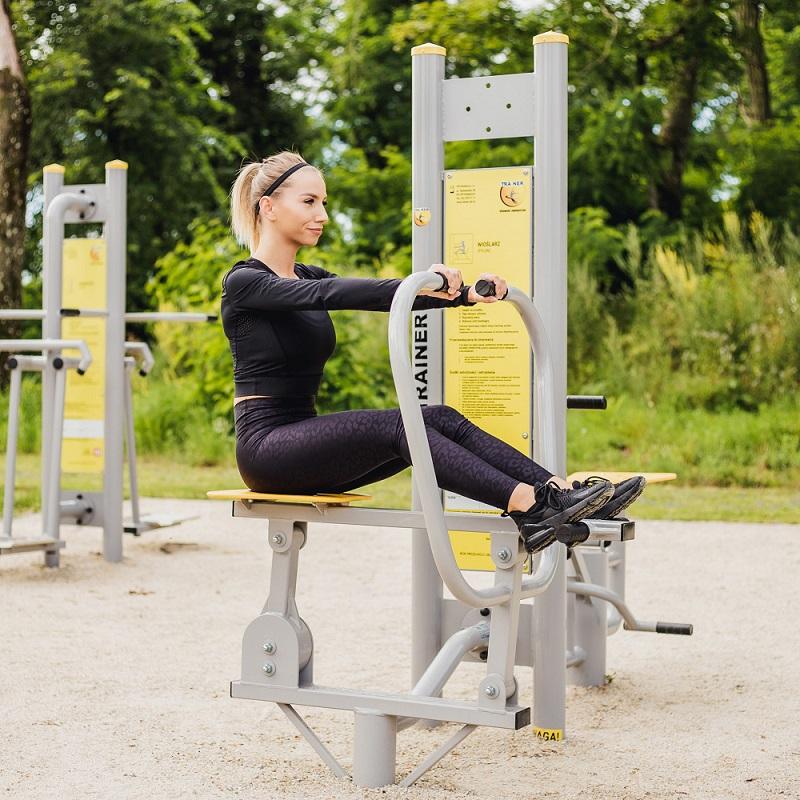 <span>Siłownie zewnętrzne plenerowe</span> - polski producent outdoor fitness